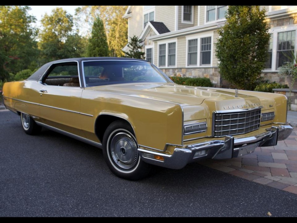 Fresh Metal 1973 Lincoln Continental Coupe Notoriousluxury
