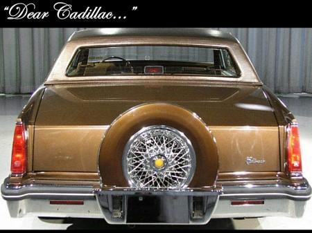 Dear Cadillac