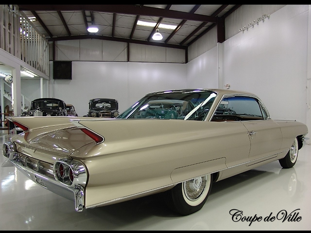 1961 Cadillac Series 6300 Coupe Deville Notoriousluxury Sedan The Was A Trend Setting Motorcar It Even More Intriguing For Its Basic Structure Increased Rigidity Had Greater Roominess