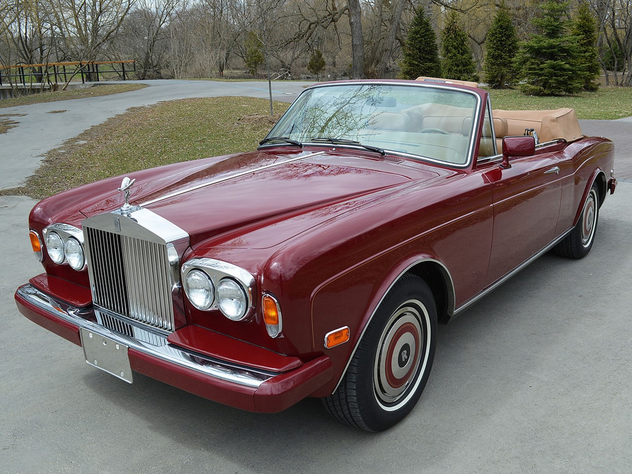 1986 Rolls Royce Corniche Convertible - NotoriousLuxury