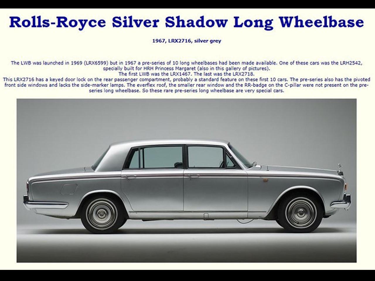 1967 rolls royce silver shadow lwb notoriousluxury. Black Bedroom Furniture Sets. Home Design Ideas