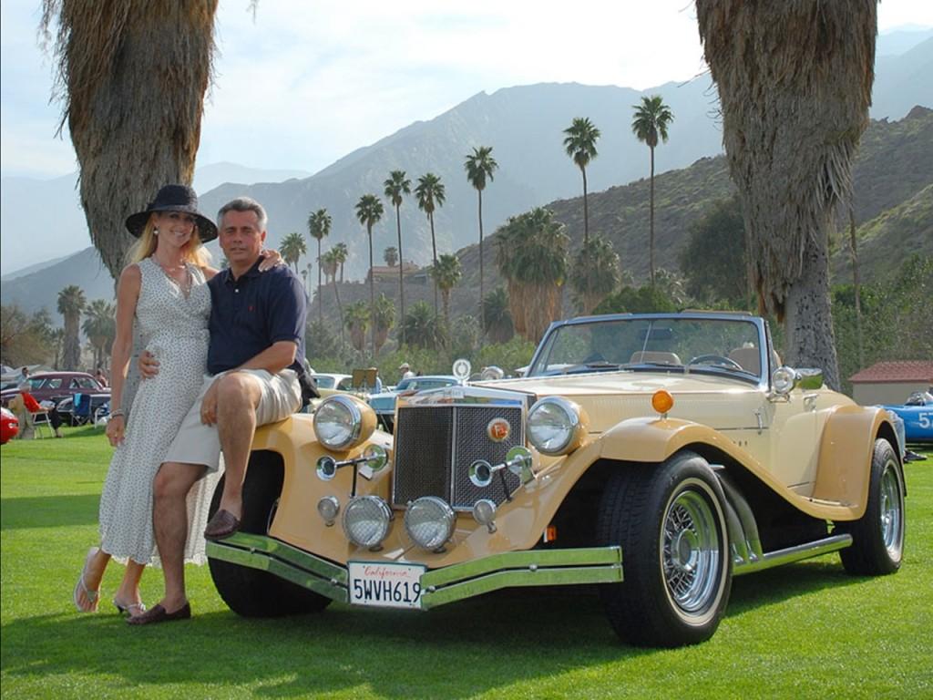 Sir Alfred & Yvonne