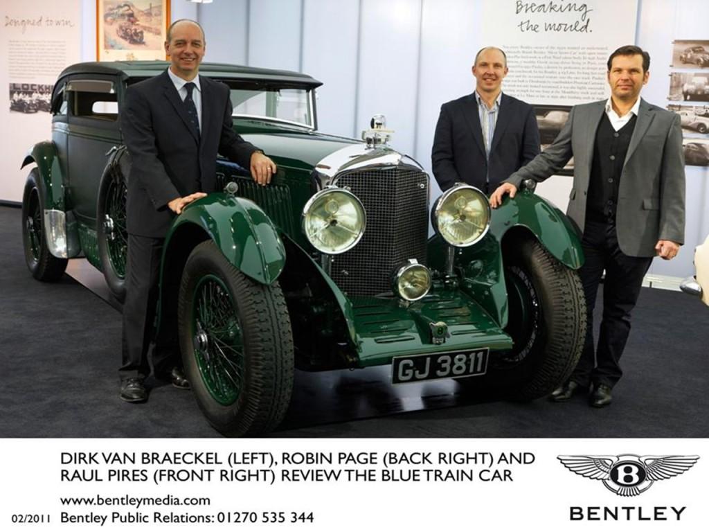 Blue Train Bentley 3