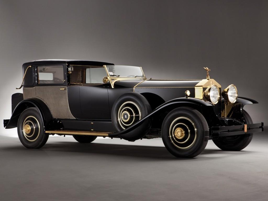 1929Rolls-RoycePhantom Springfield Riviera Town Brougham by Brewster