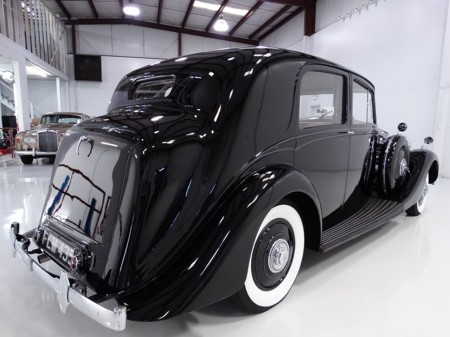 1939 Wraith Sports Saloon with Park Ward Coachcrafting 2