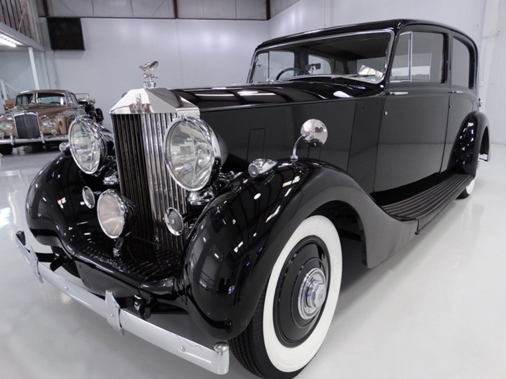 1939 Wraith Sports Saloon with Park Ward Coachcrafting