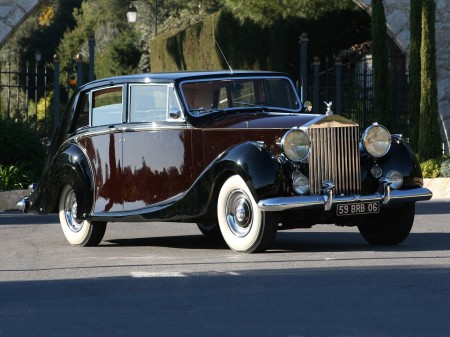 1953 Rolls-Royce Silver Wraith Limousine by Hooper 1