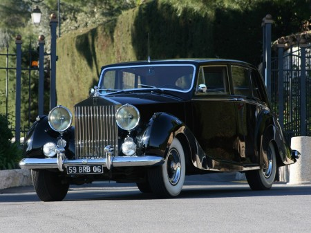 1953 Rolls-Royce Silver Wraith Limousine by Hooper 2