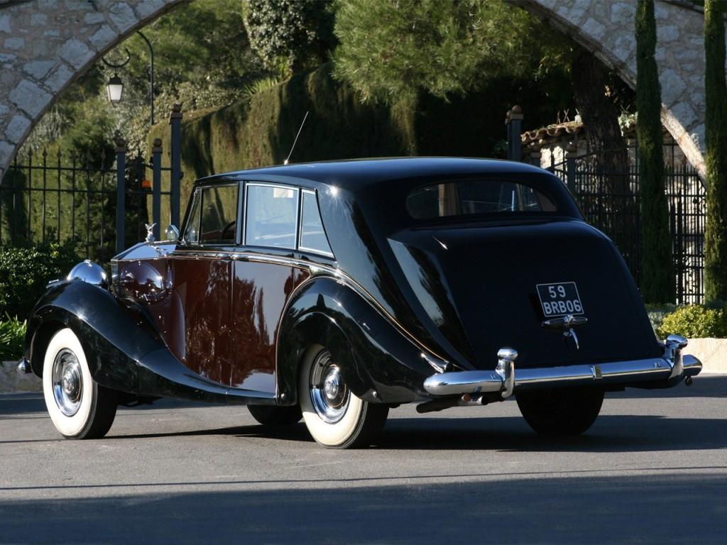 1953Rolls-RoyceSilver Wraith Limousine by Hooper 3
