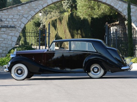 1953 Rolls-Royce Silver Wraith Limousine by Hooper 4