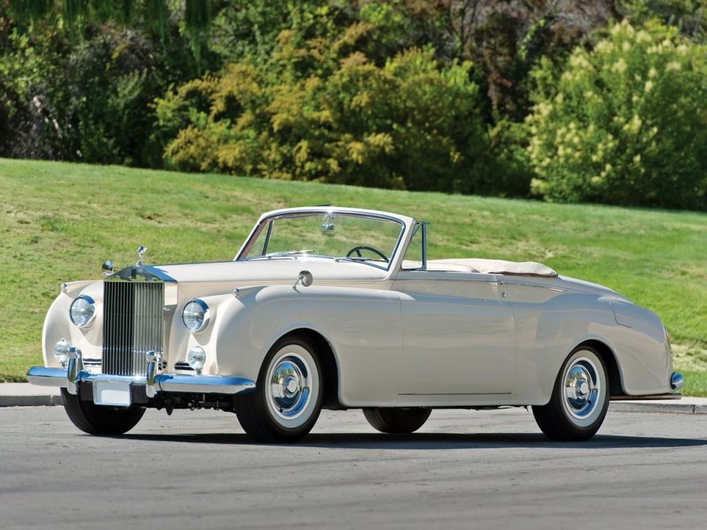 1959 Silver Cloud II Mulliner Drophead 1