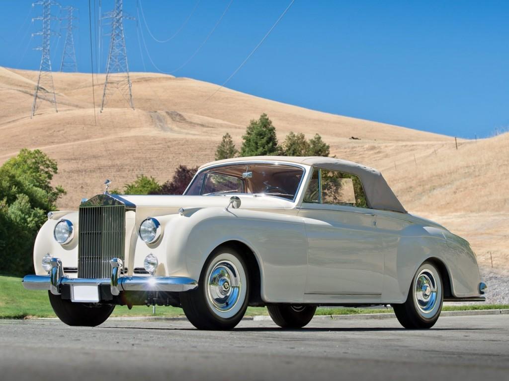 1959 Silver Cloud II Mulliner Drophead 10