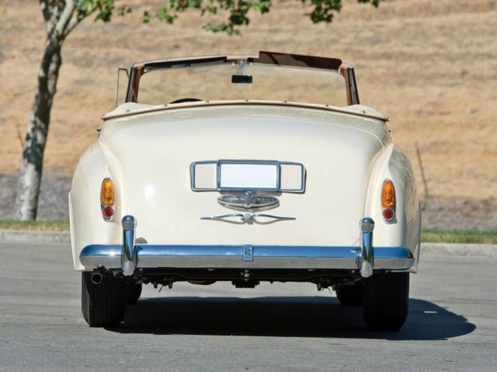 1959 Silver Cloud II Mulliner Drophead 2