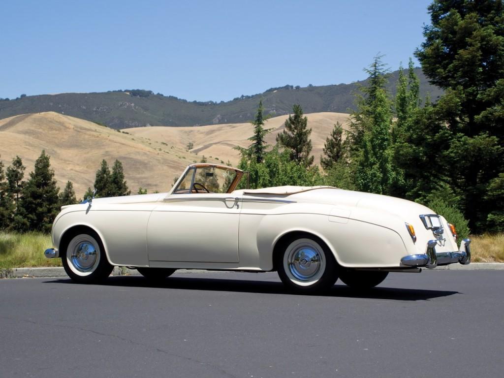 1959 Silver Cloud II Mulliner Drophead 3