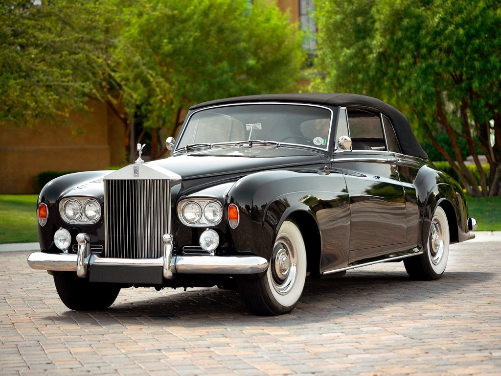 1963 Rolls-Royce Silver Cloud Drophead coupé III 2
