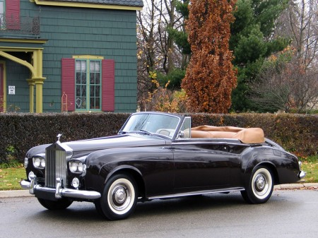 1963 Rolls-Royce Silver Cloud Drophead coupé III 4