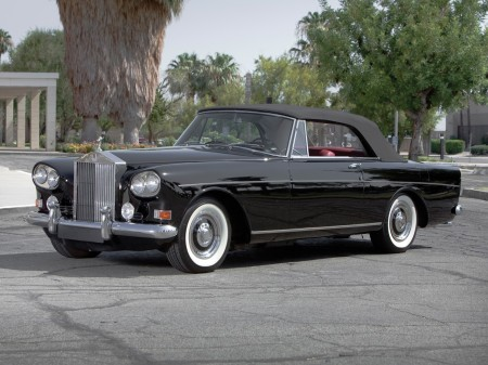 1966 Mulliner park Ward Drophead Silver Cloud Series III 10