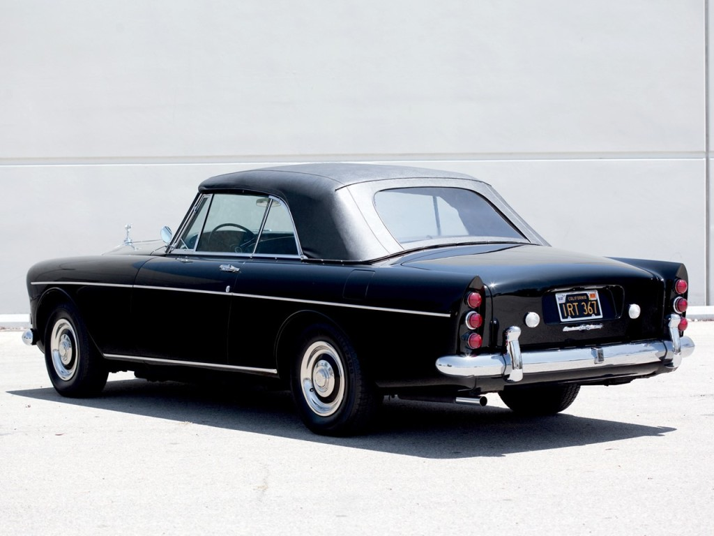 1966 Mulliner park Ward Drophead Silver Cloud Series III 11