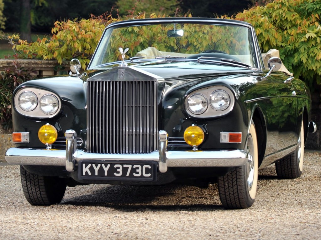 1966 Mulliner park Ward Drophead Silver Cloud Series III 2