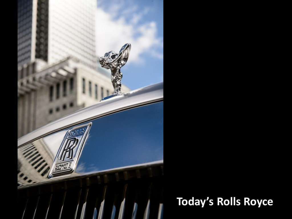 Today's Rolls Royce