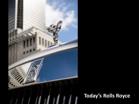 Today's Rolls Royce