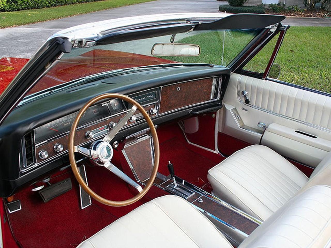 passionate poncho 1967 grand prix convertible notoriousluxury 1967 Grand Prix Convertible Interior 1967 6