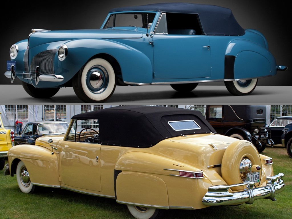 1939 Continental top   1948 Continental bottom