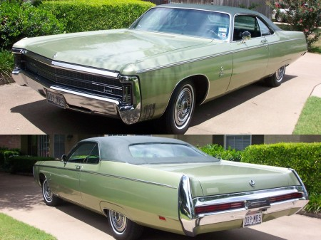 Curt Young's 1969 Imperial LeBaron Coupe