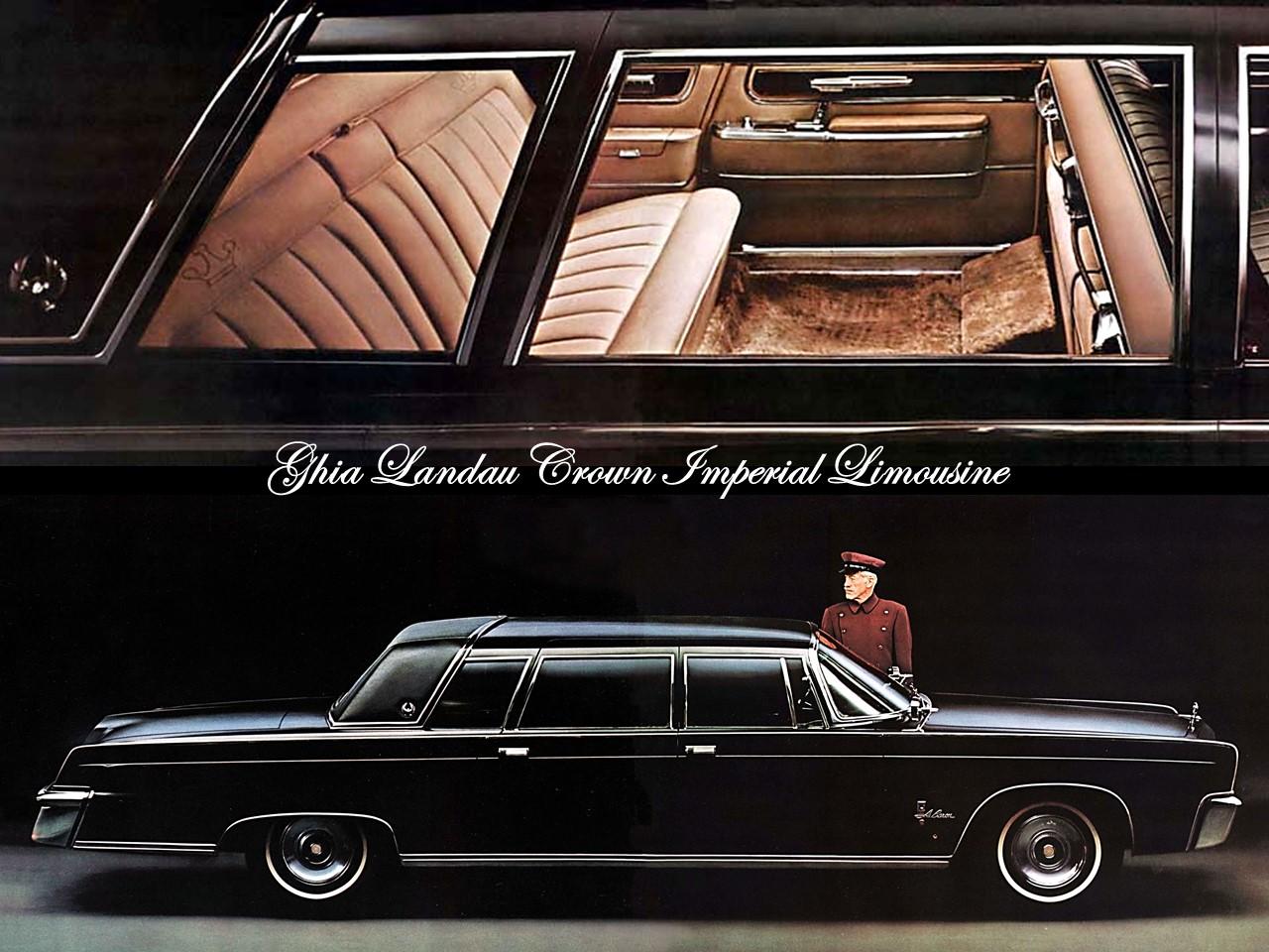 Crown Jewel 1964 Ghia Landau Crown Imperial Limousine