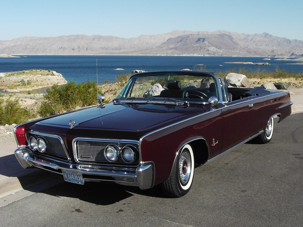 Jay D'Angelo's 1964 Imperial Convertible 1