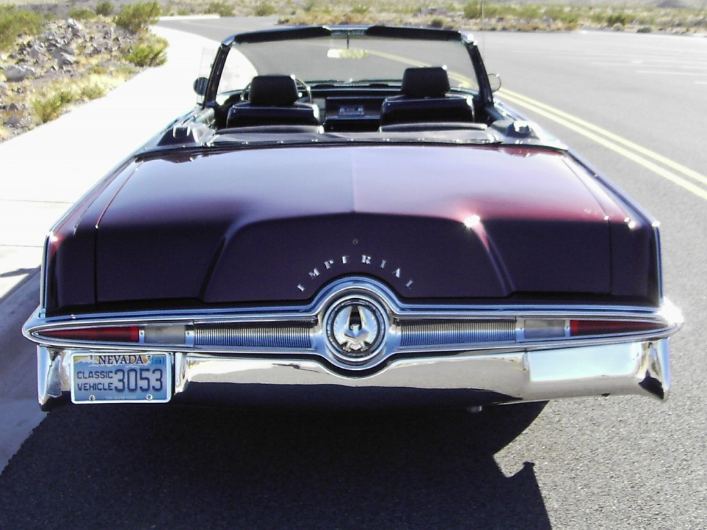 Jay D'Angelo's 1964 Imperial Convertible 2