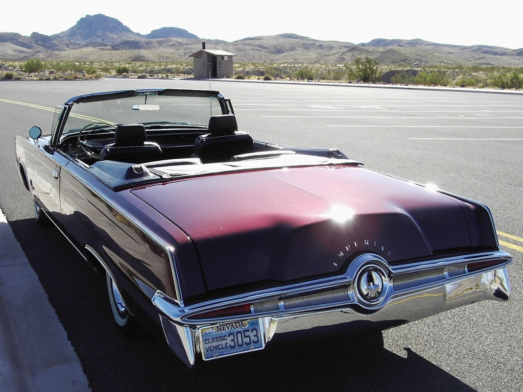 Jay D'Angelo's 1964 Imperial Convertible 3