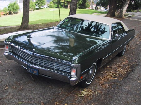 Kenyon Wills' 1970 Imperial LeBaron 1