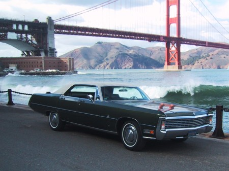 Kenyon Wills' 1970 Imperial LeBaron 2