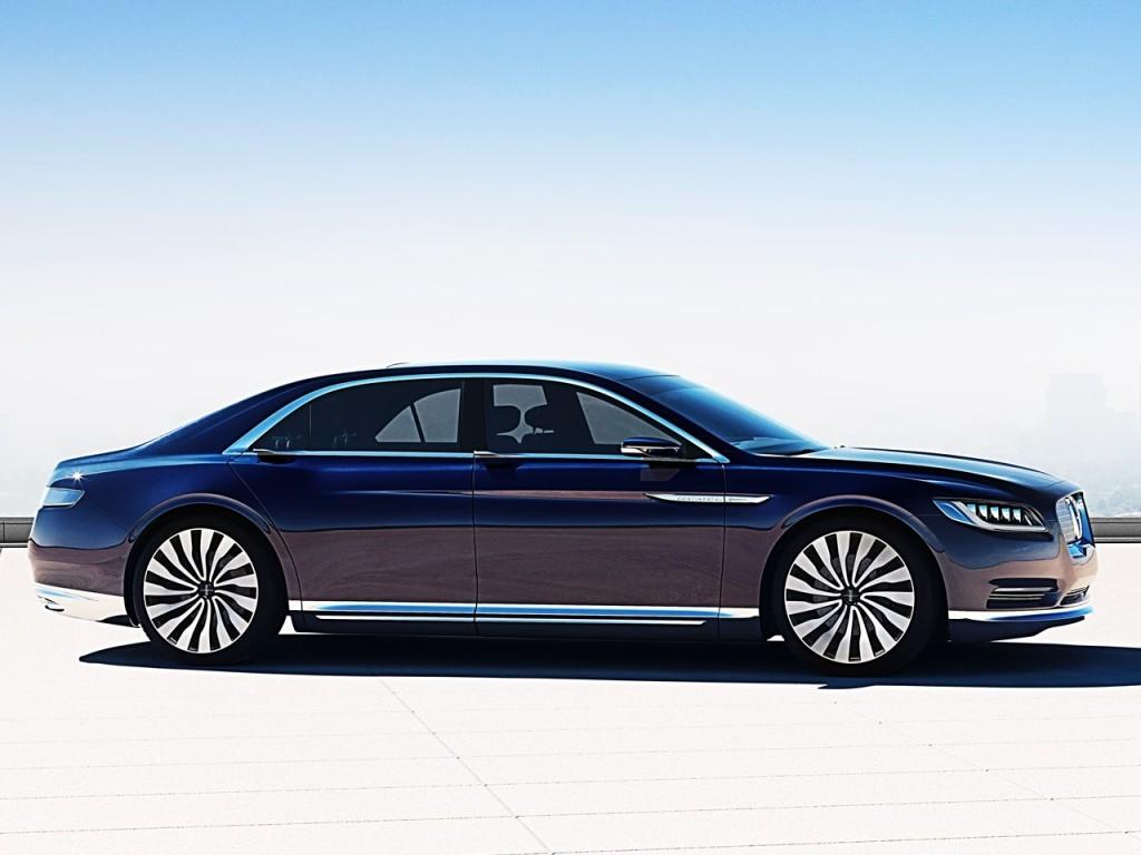 Lincoln Continental Concept 8