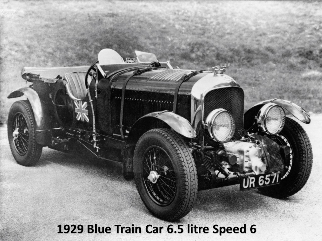 1929 Blue Train Speed 6