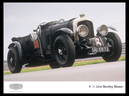 4.5 litre Bentley Blower