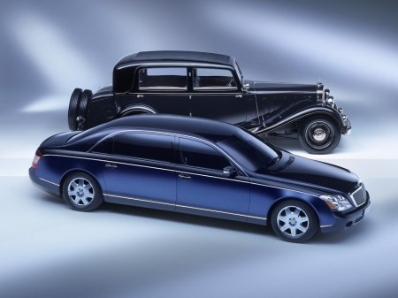 Classic Maybach and Maybach 62