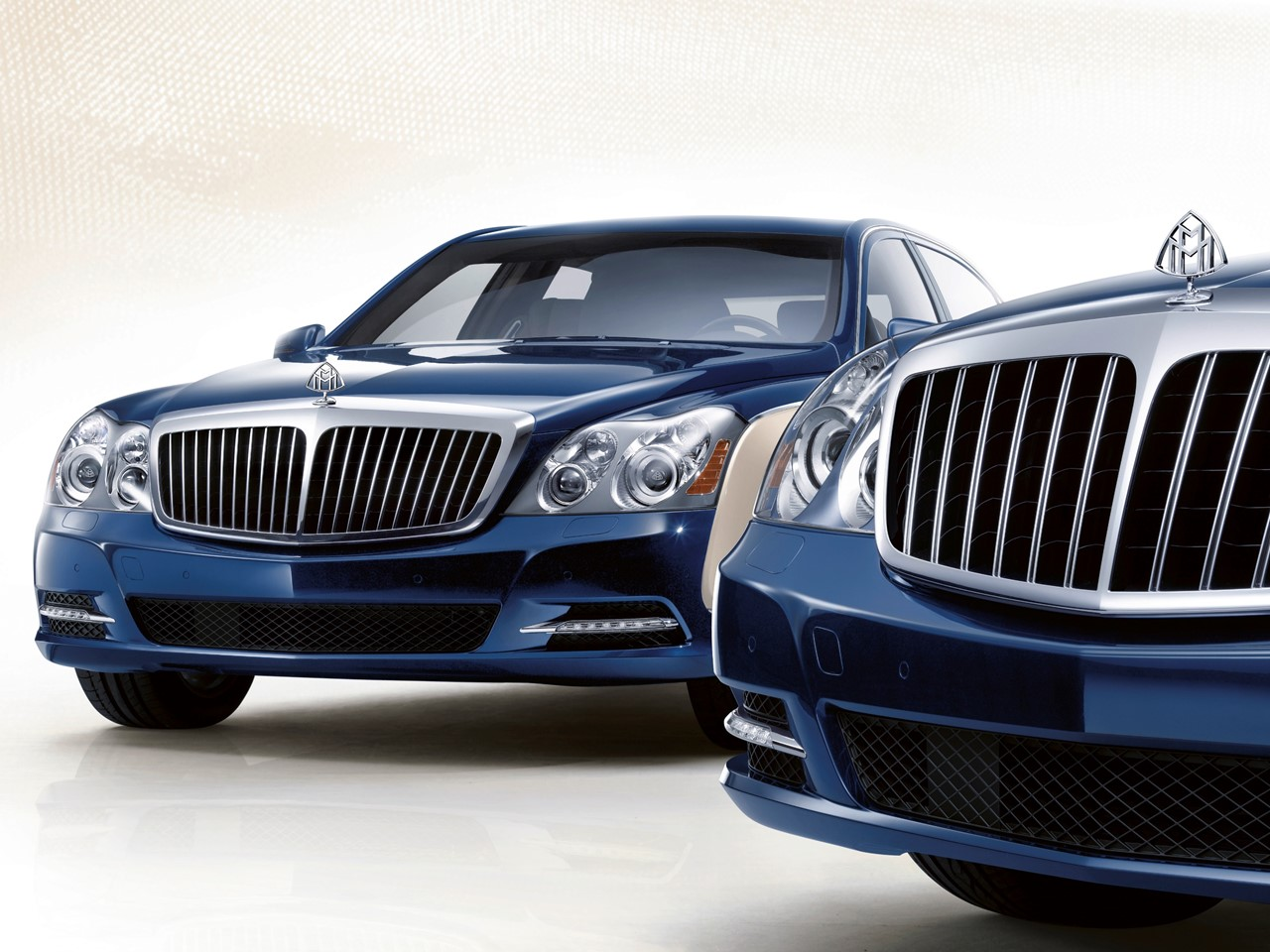 Maybach 57 and 62 front