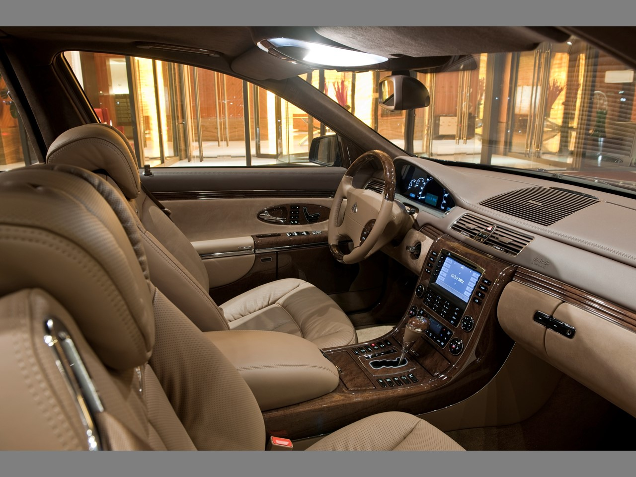 Maybach interior 1