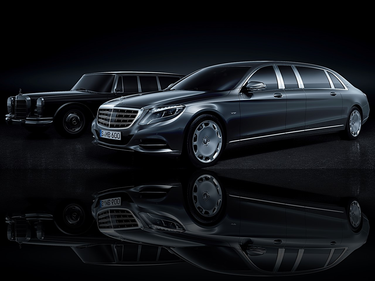 Mercedes-Maybach Pullman Limousine 1
