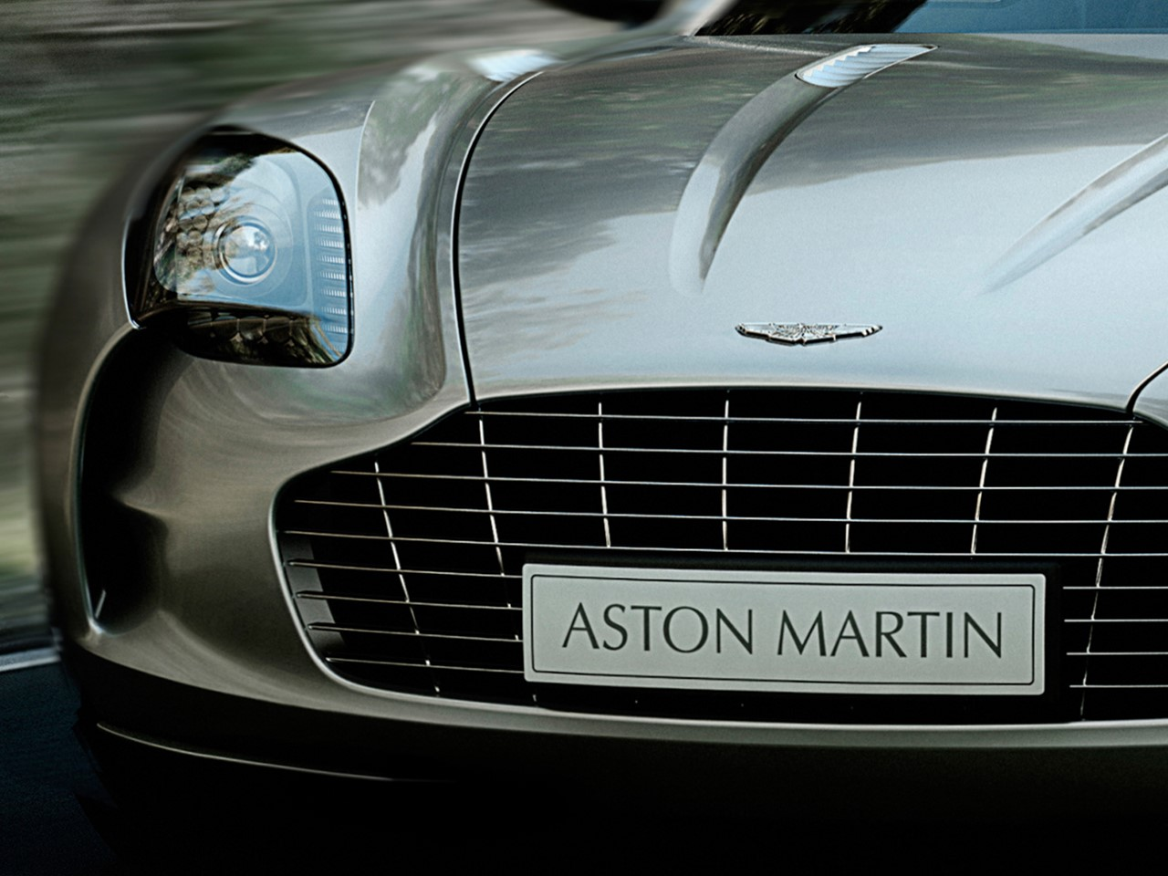 Aston Martin ONE 77 Supercar Built At A Restricted Pace Of Only 77