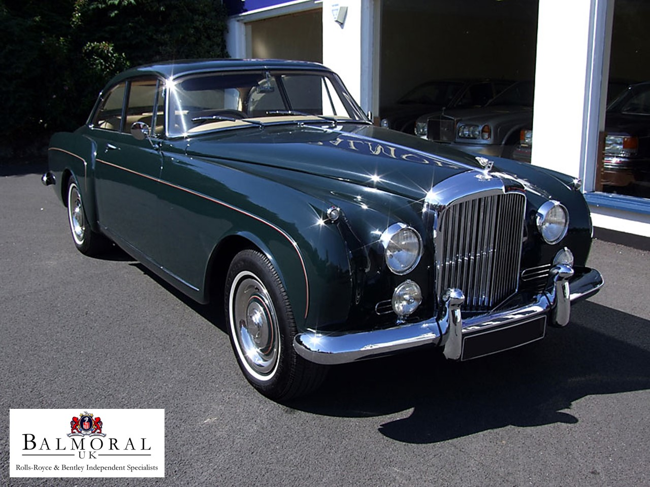 1960 Bentley S2 HJ Mulliner Coupe 3