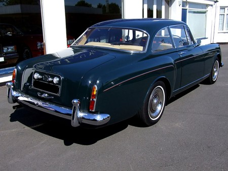 1960 Bentley S2 HJ Mulliner Coupe 8