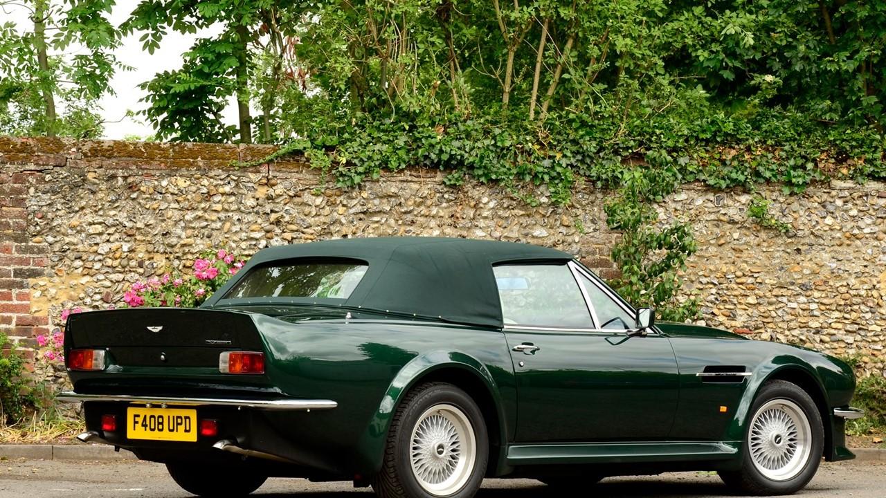 Retrospect 1986 1989 Aston Martin V8 Vantage Volante Notoriousluxury