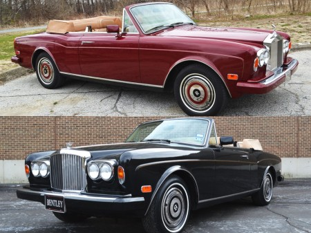 RR and Bentley Corniche