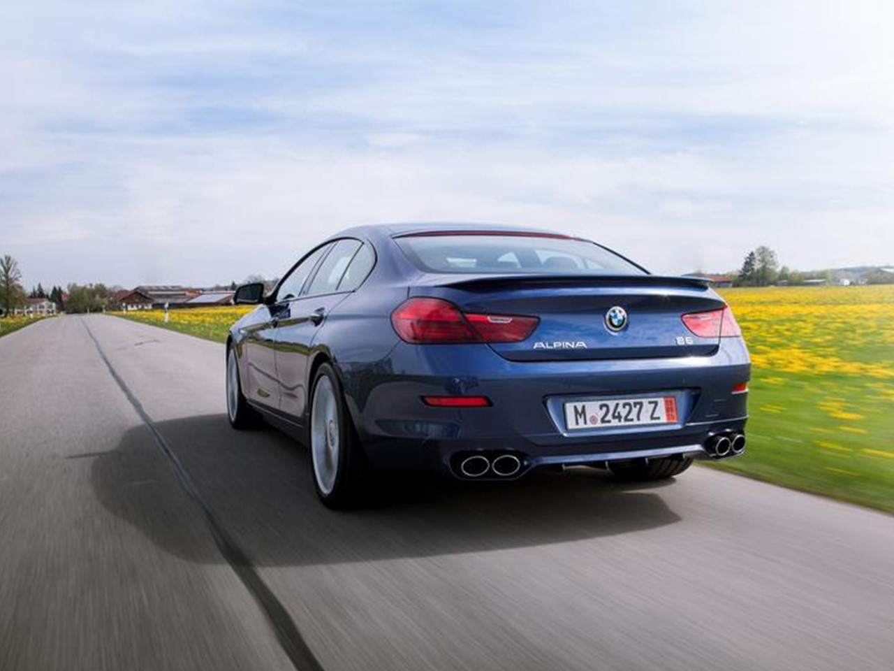 2016 Alpina B6 xDrive Gran Coupe 23
