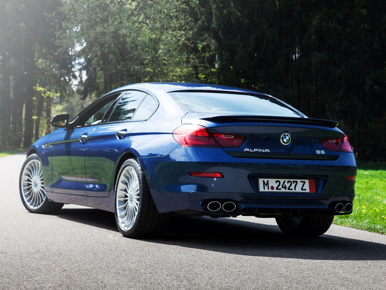 2016 Alpina B6 xDrive Gran Coupe 4