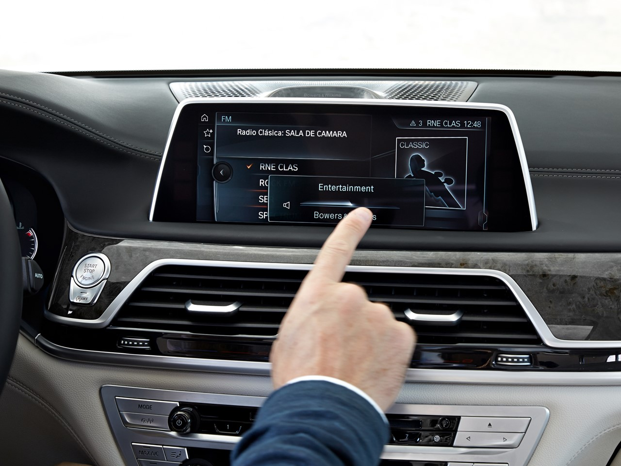 Infotainment Touch Control
