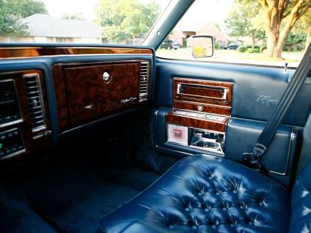 1990 Brougham d'Elegance interior 3